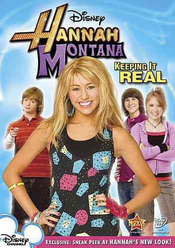 HANNAH MONTANA:KEEPING IT REAL BY HANNAH MONTANA (DVD)